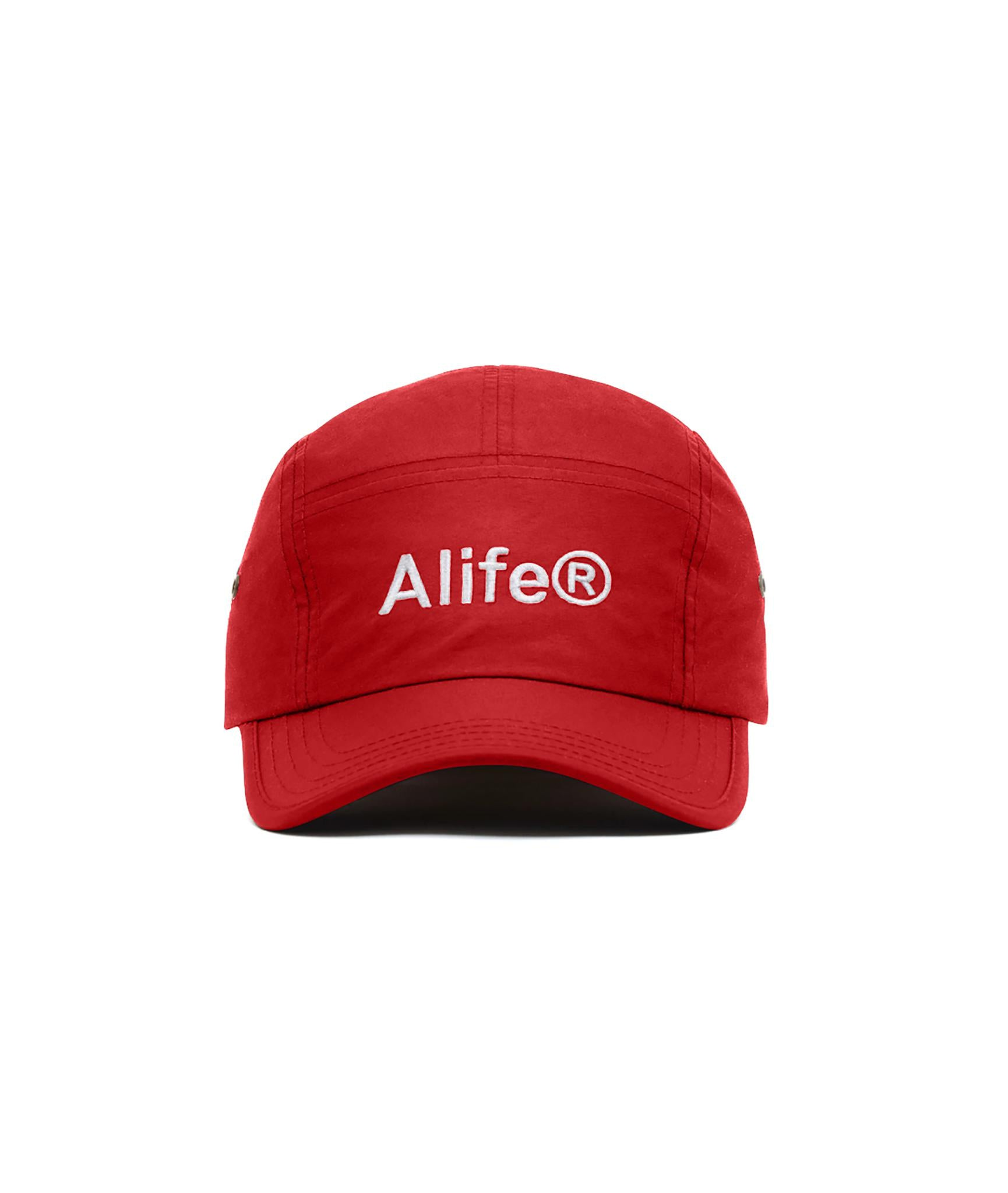Alife Nylon 5-Panel Hat - Red