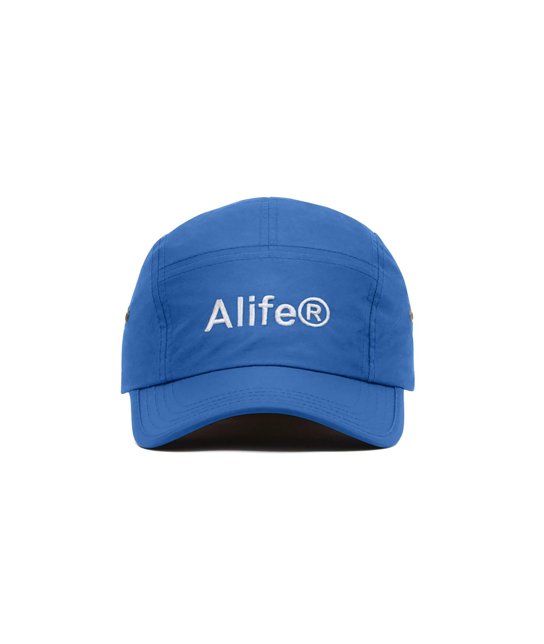 Alife Nylon 5-Panel Hat - Royal Blue