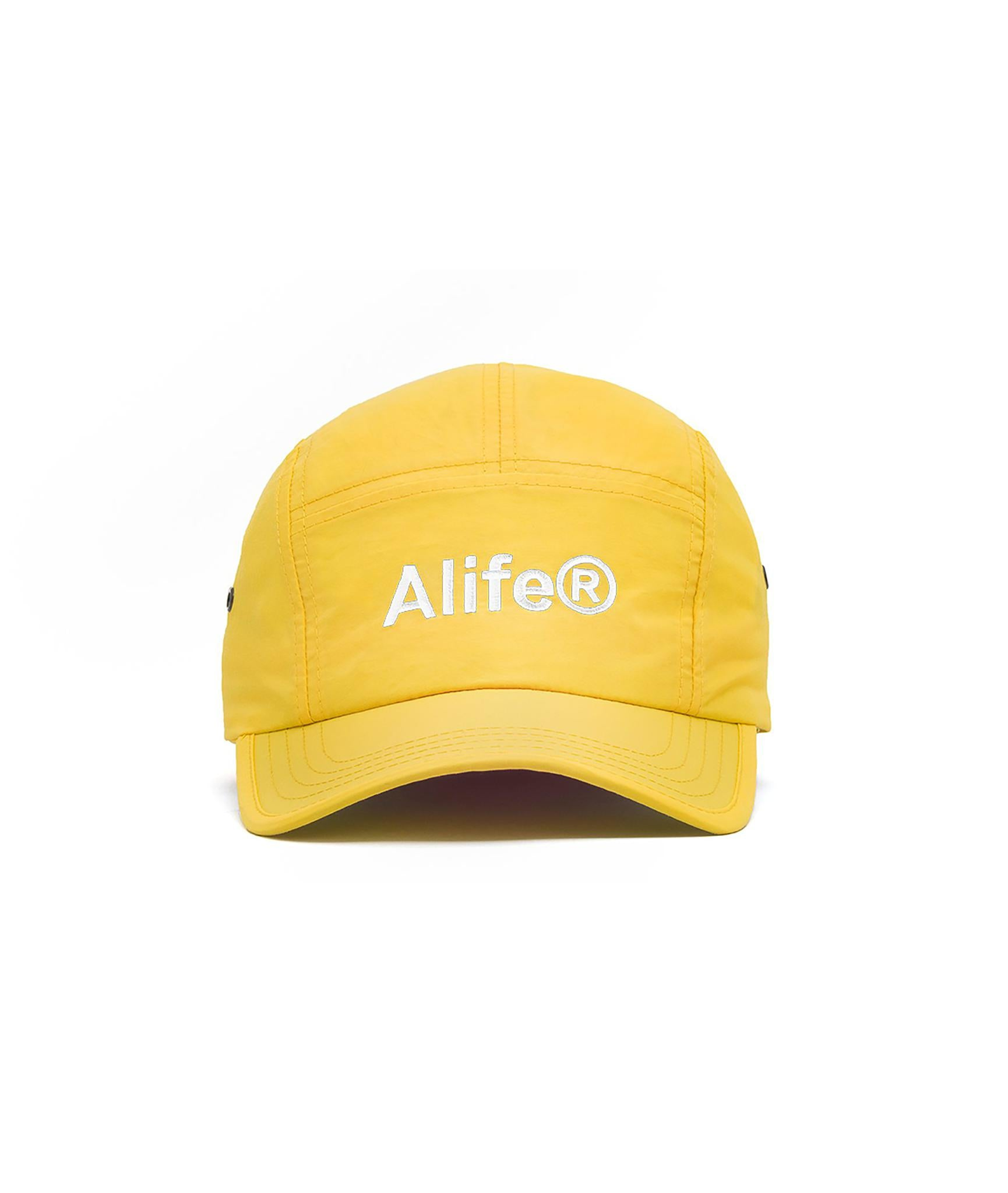 Alife Nylon 5-Panel Hat - Yellow