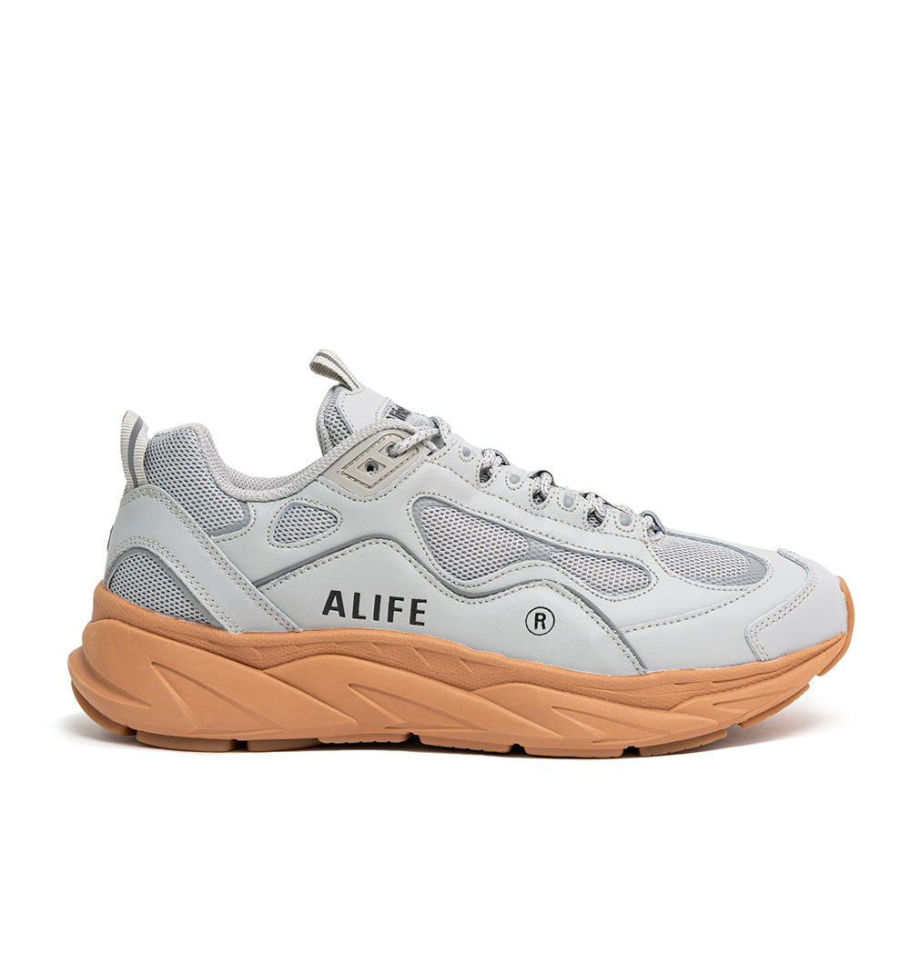 Alife FILA Trigate sneaker 1RM01564 in Grey/Gum - side view
