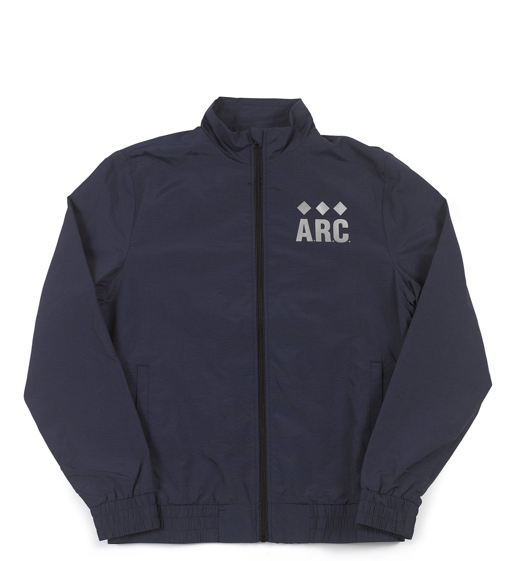 A.R.C. Nylon Track Jacket - Navy
