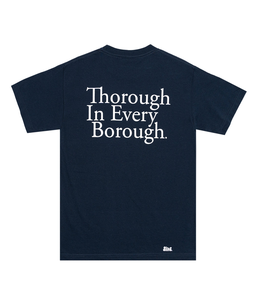 Alife Thorough in Every Borough Tee - Navy