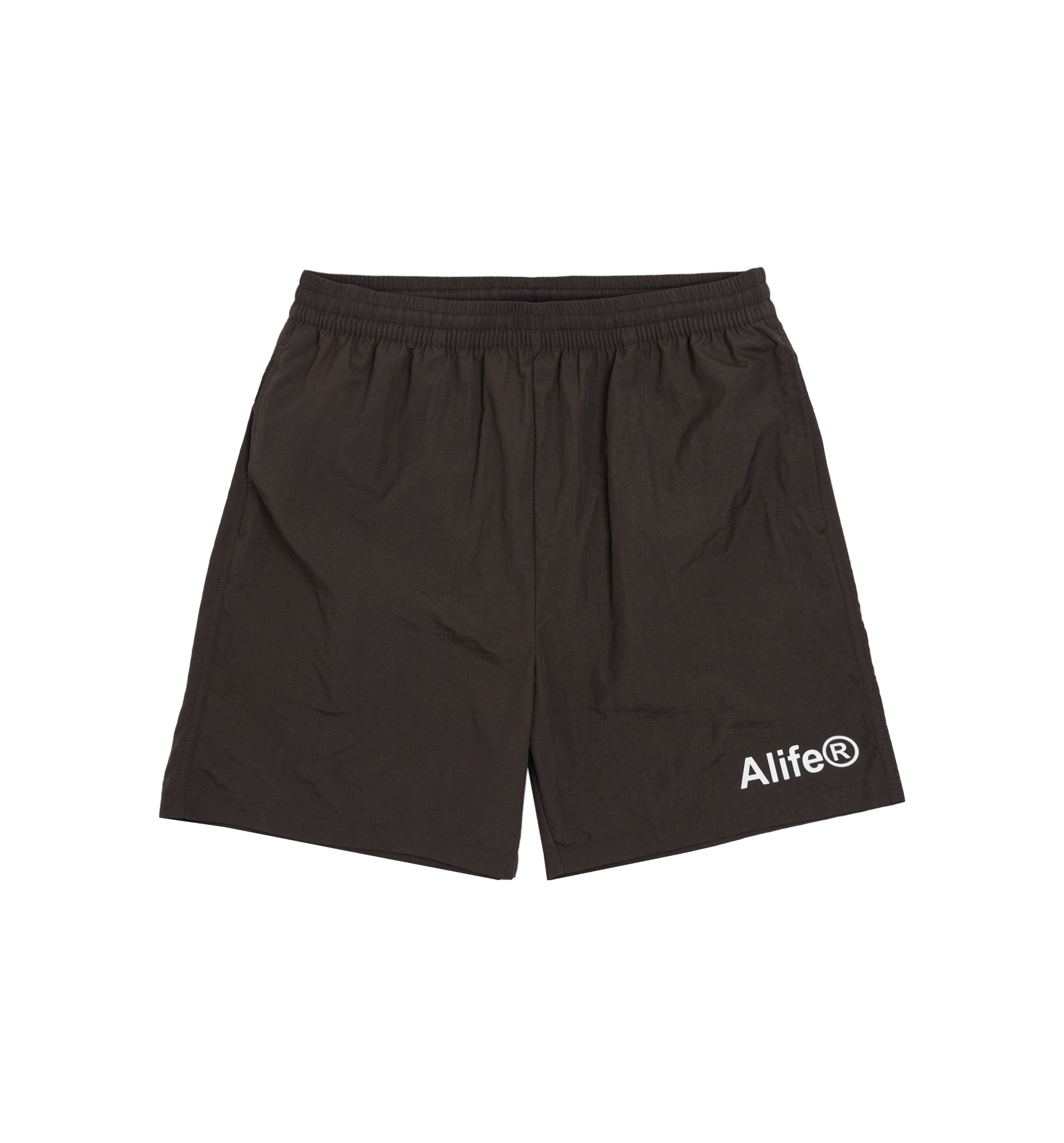Alife Swim/Run Nylon Short - Brown