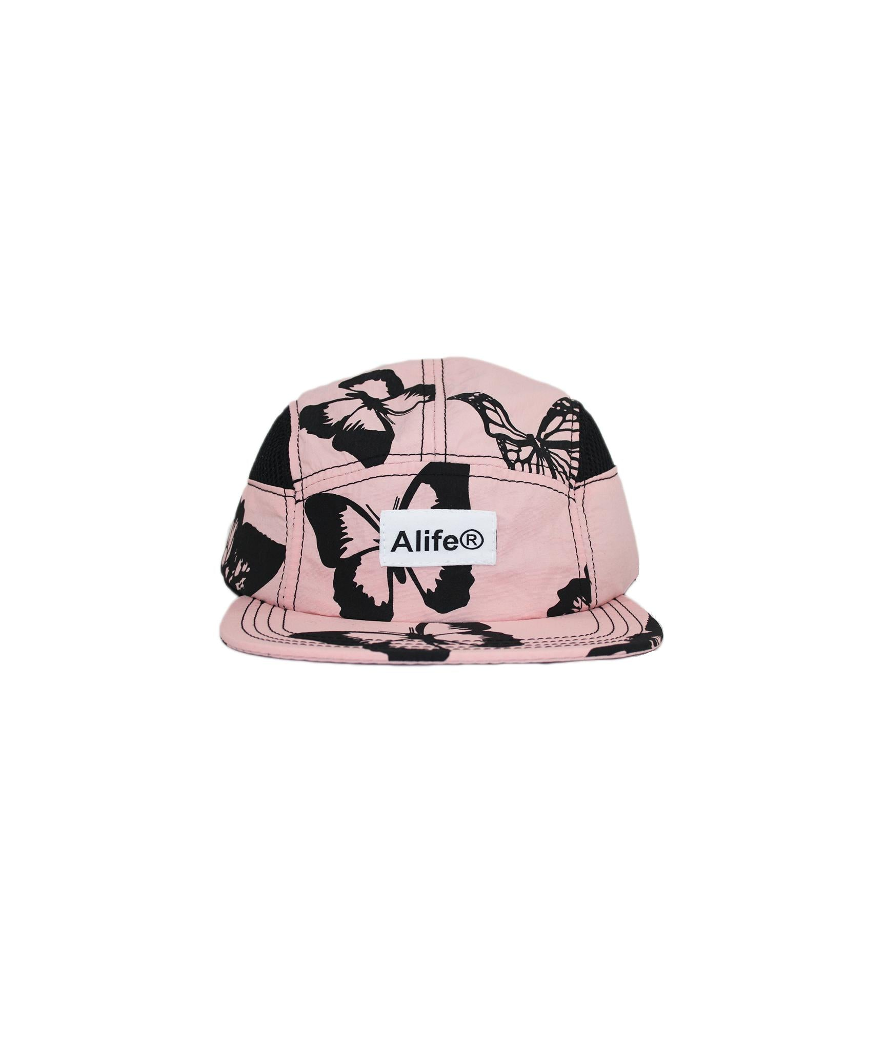 Alife Upcycle Hat - Butterfly - Pink/Black