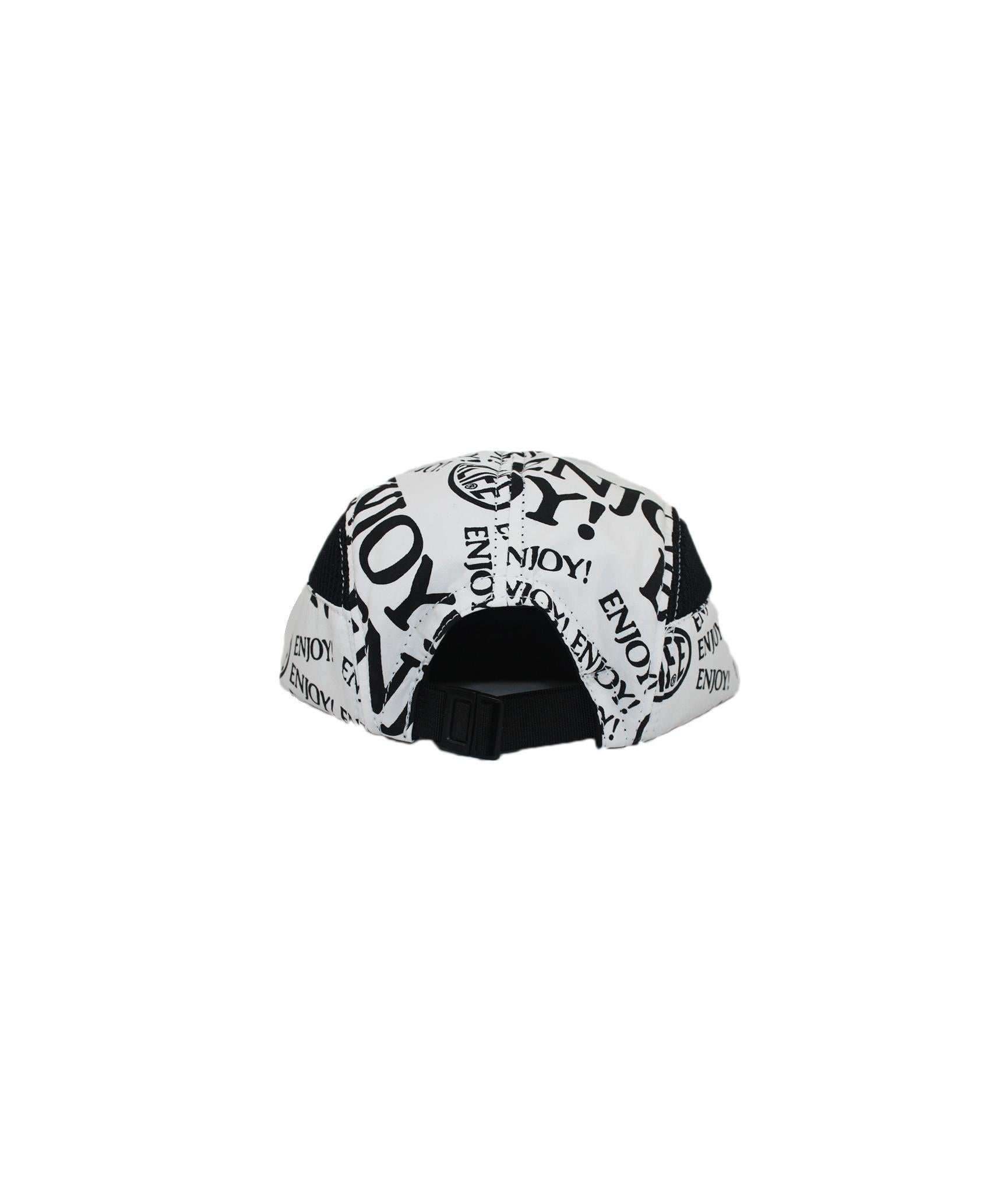 Alife Upcycle Hat - Enjoy! Capsule - White/Black
