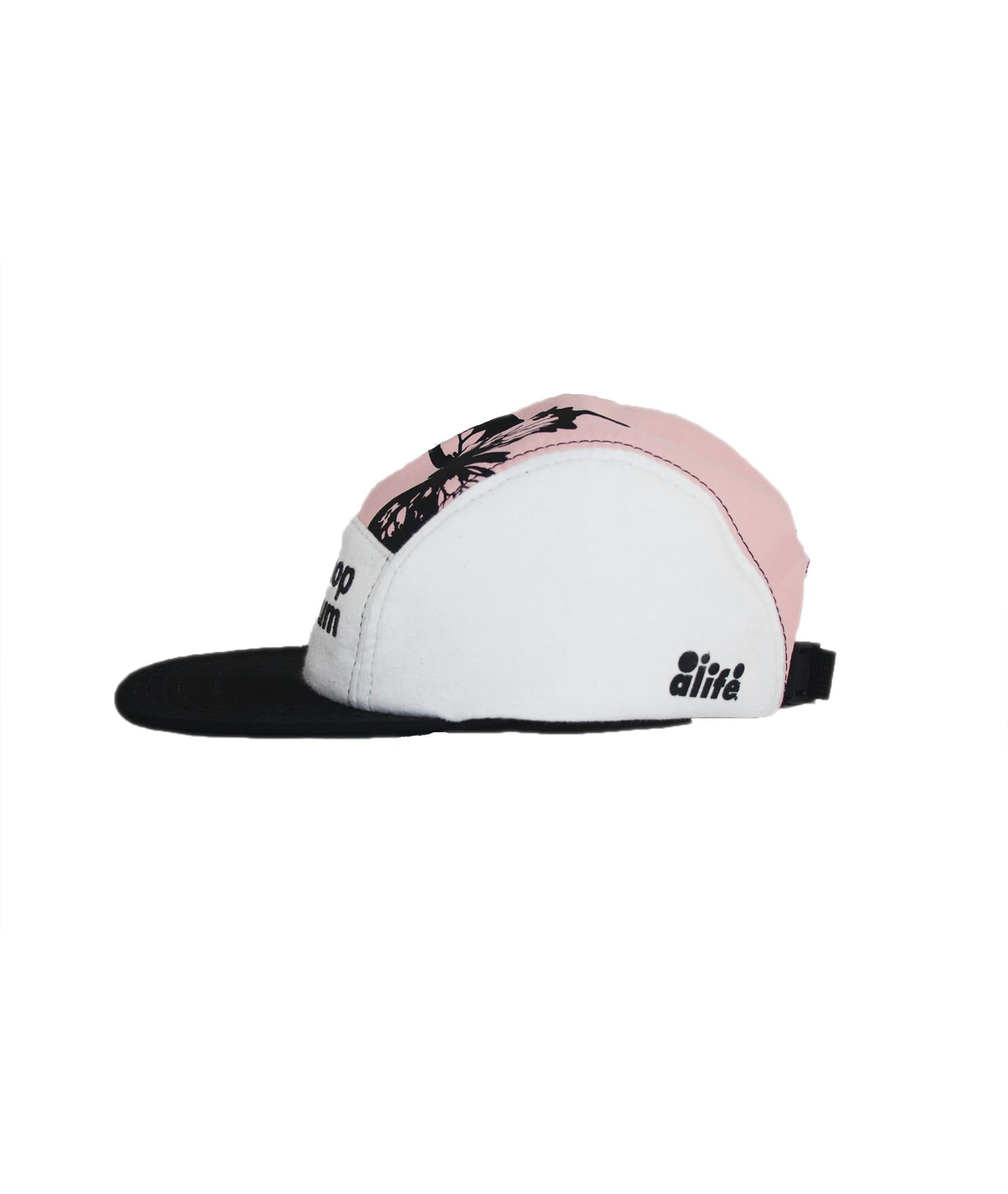Alife Upcycle Hat - Butterfly Alife®/Shop Art Museum - Pink/White