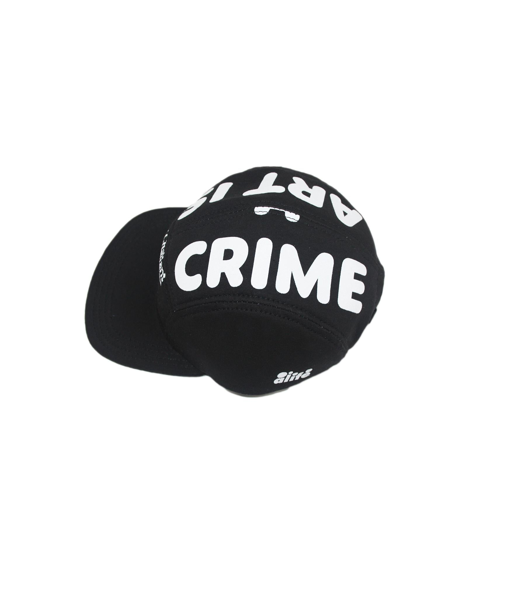 Alife Upcycle Hat - Art Is Not A Crime - Black/White