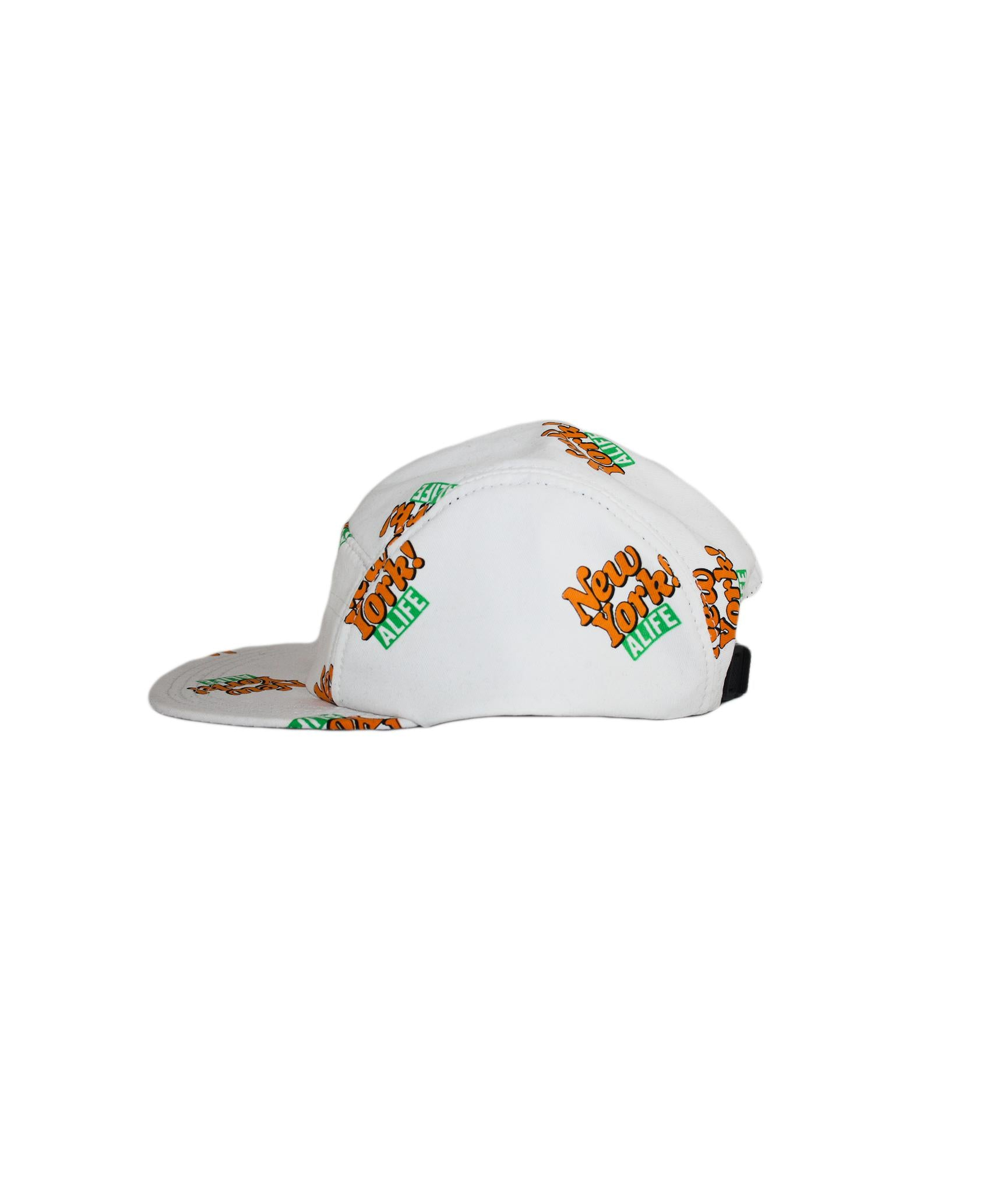 Alife Upcycle Hat - New York! Carpenter Pant - White/Orange/Green