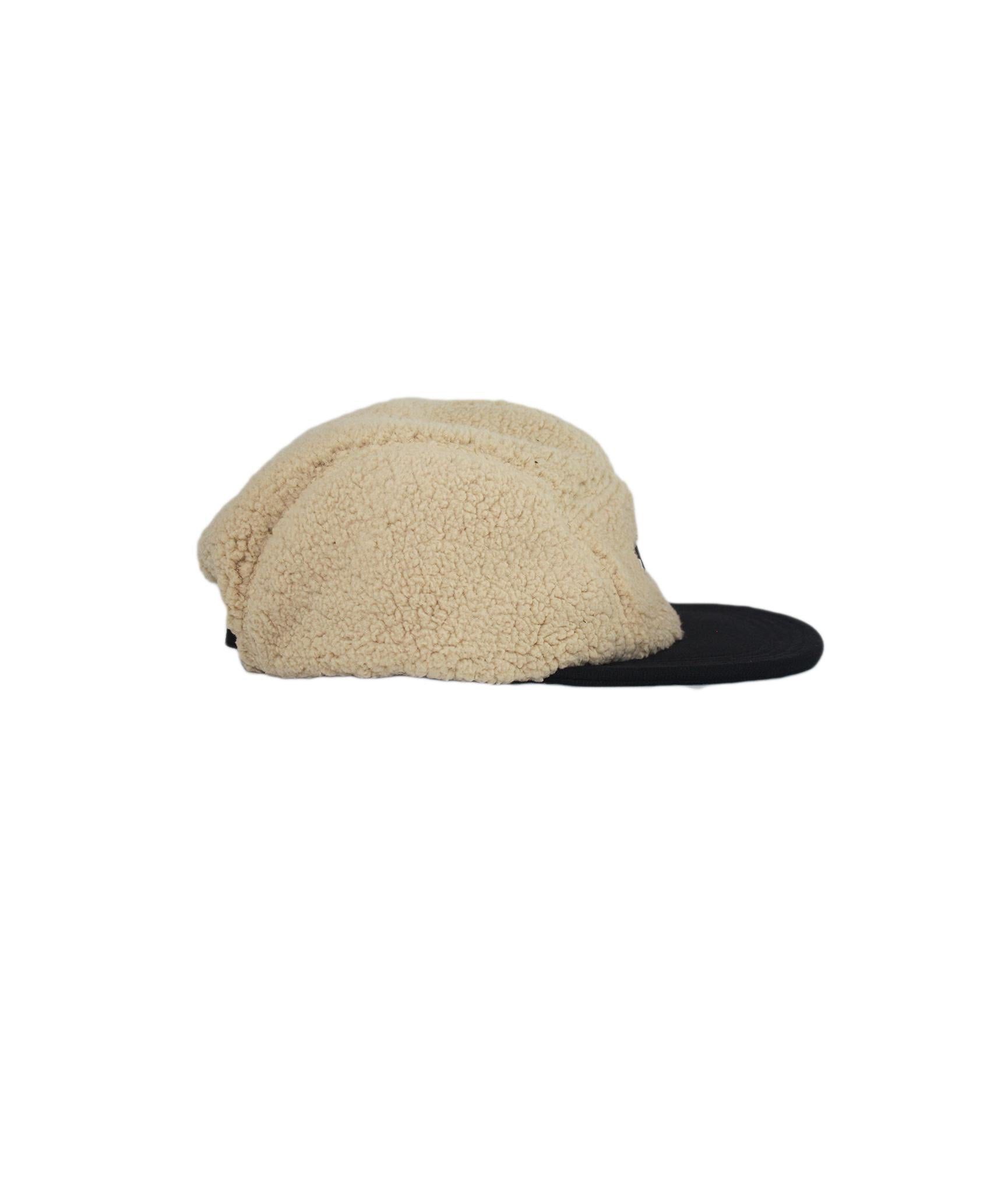 Alife Upcycle Hat - Sherpa Jacket - Natural