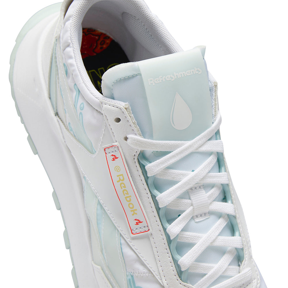 Reebok x Hot Ones Classic Leather Legacy - White/Chalk Blue
