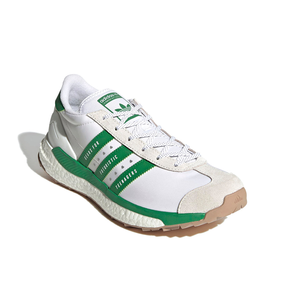Human Made x adidas Country - Cloud White/Green