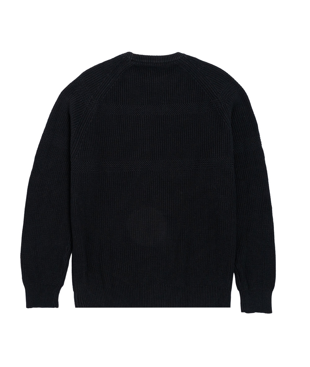 Alife Thorough in Every Borough Knit Sweater - Black