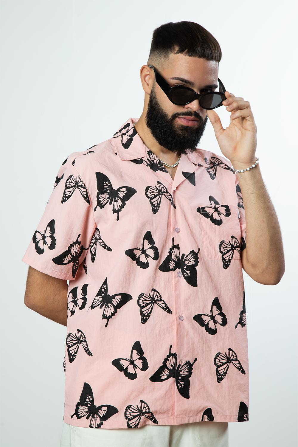Alife Butterfly Short Sleeve Button Down