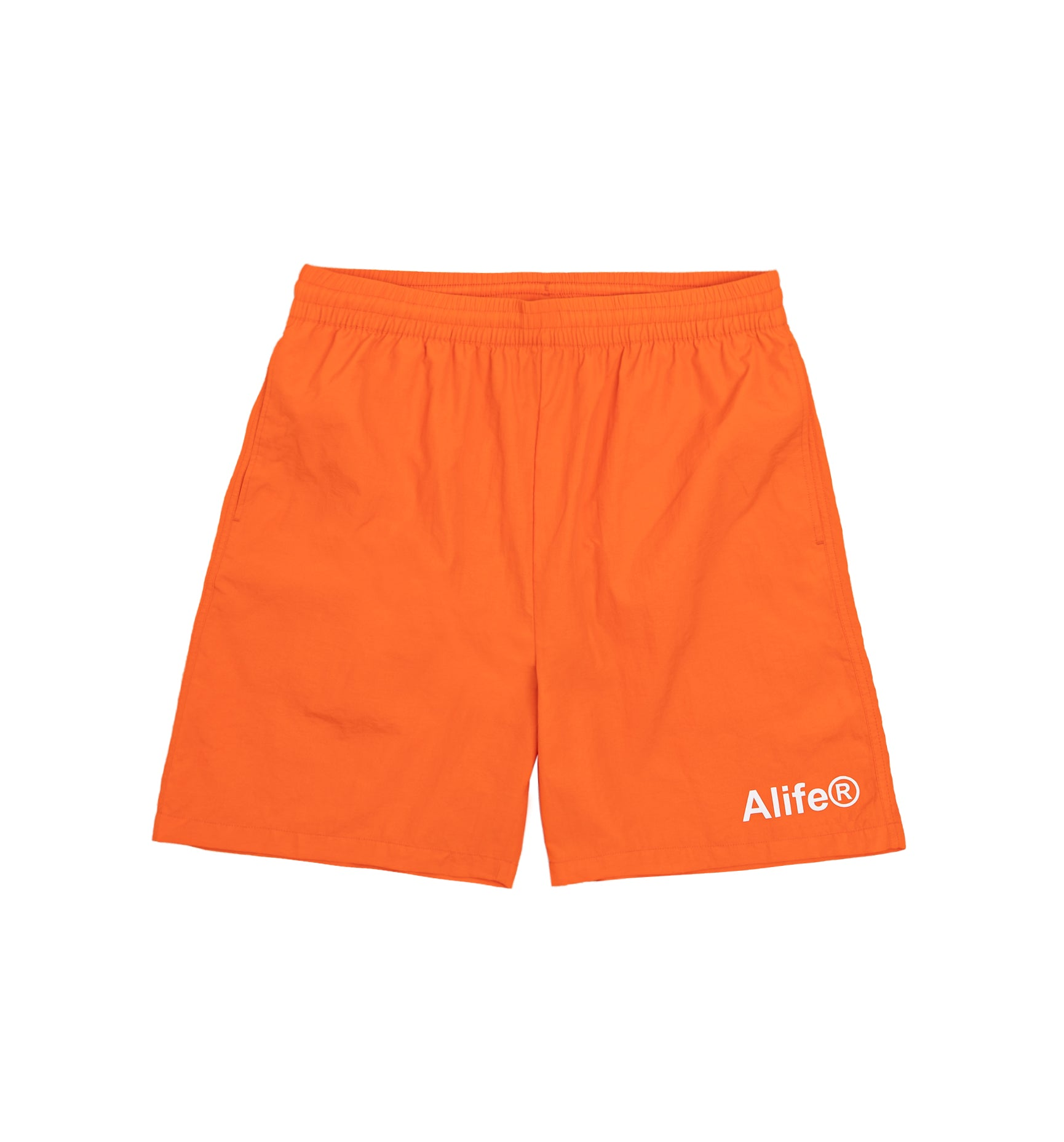 Alife Swim/Run Nylon Short - Orange