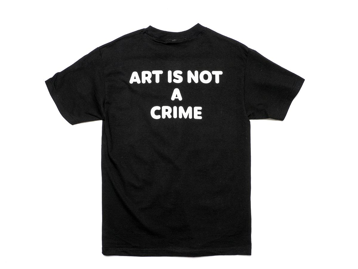 Henry Chalfant Art vs. Transit - Art Is Not A Crime Tee