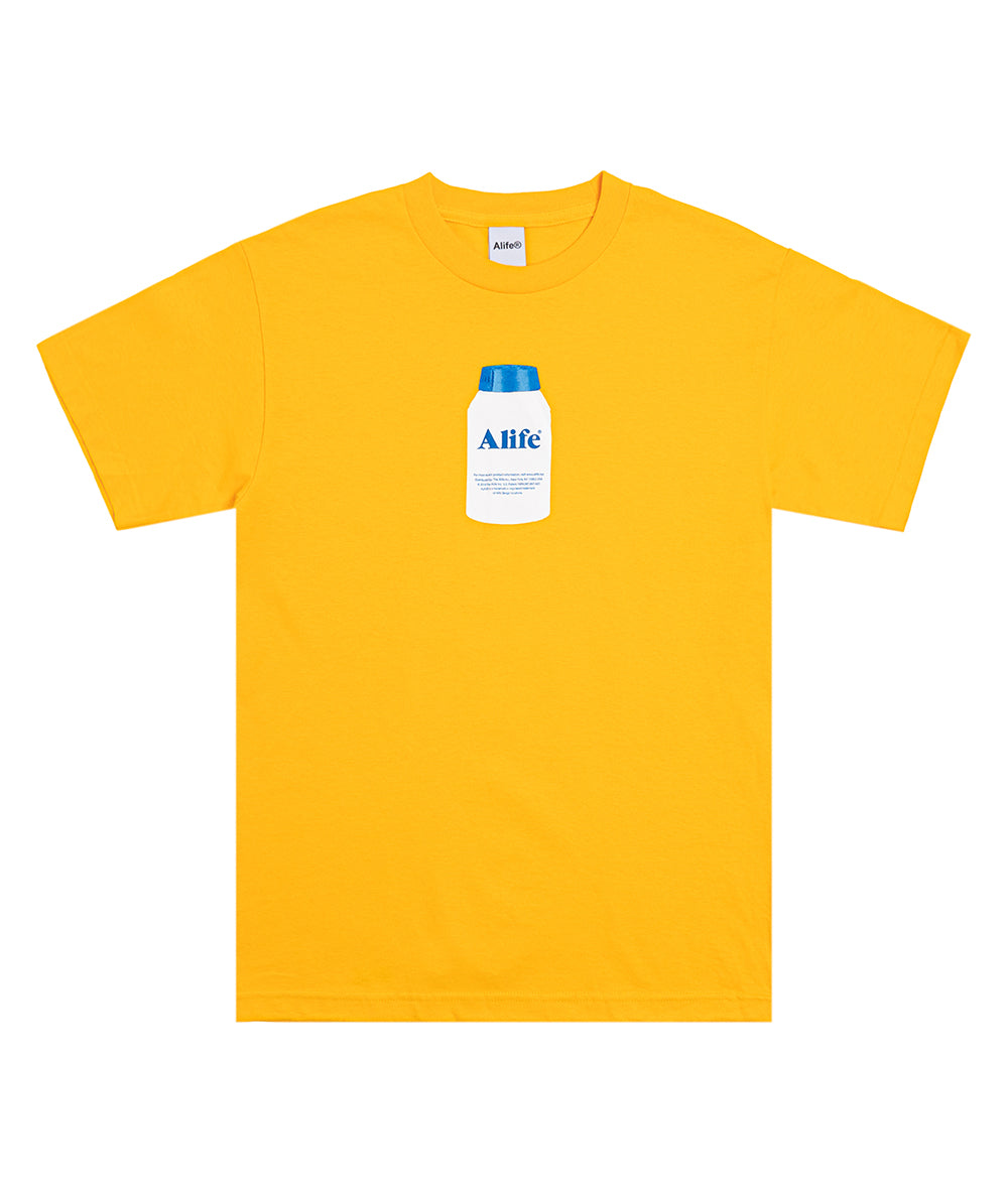 Alife Painkiller Tee in Citrus