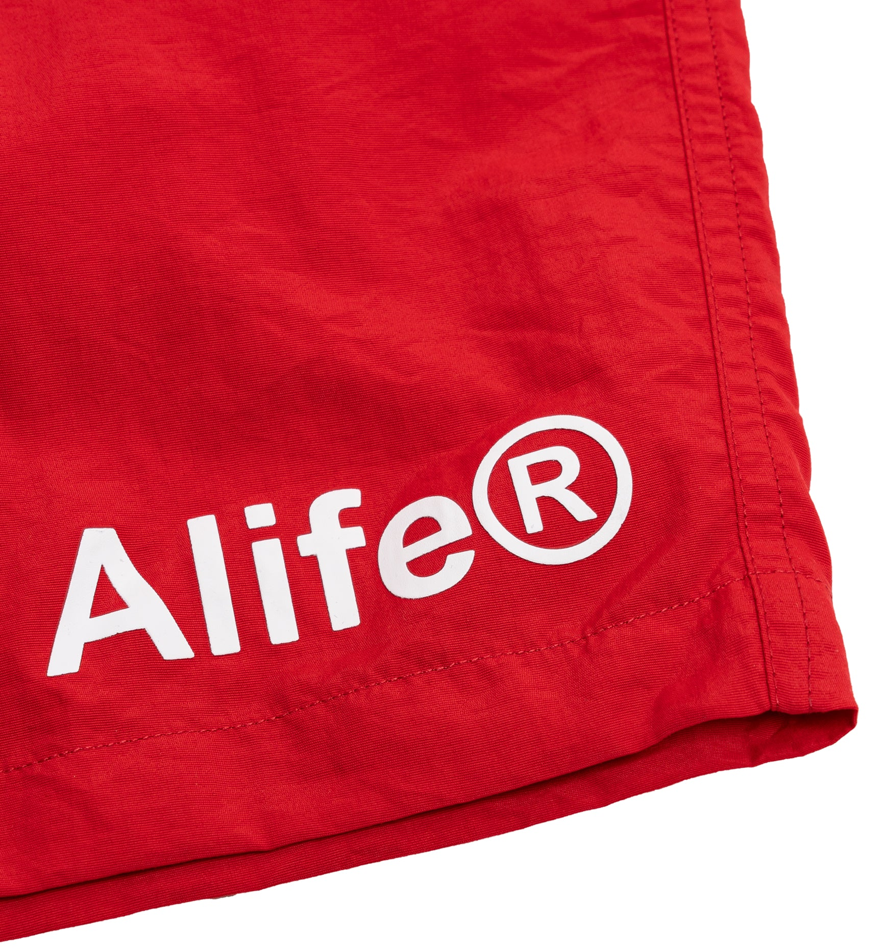 Alife Swim/Run Nylon Short - Red