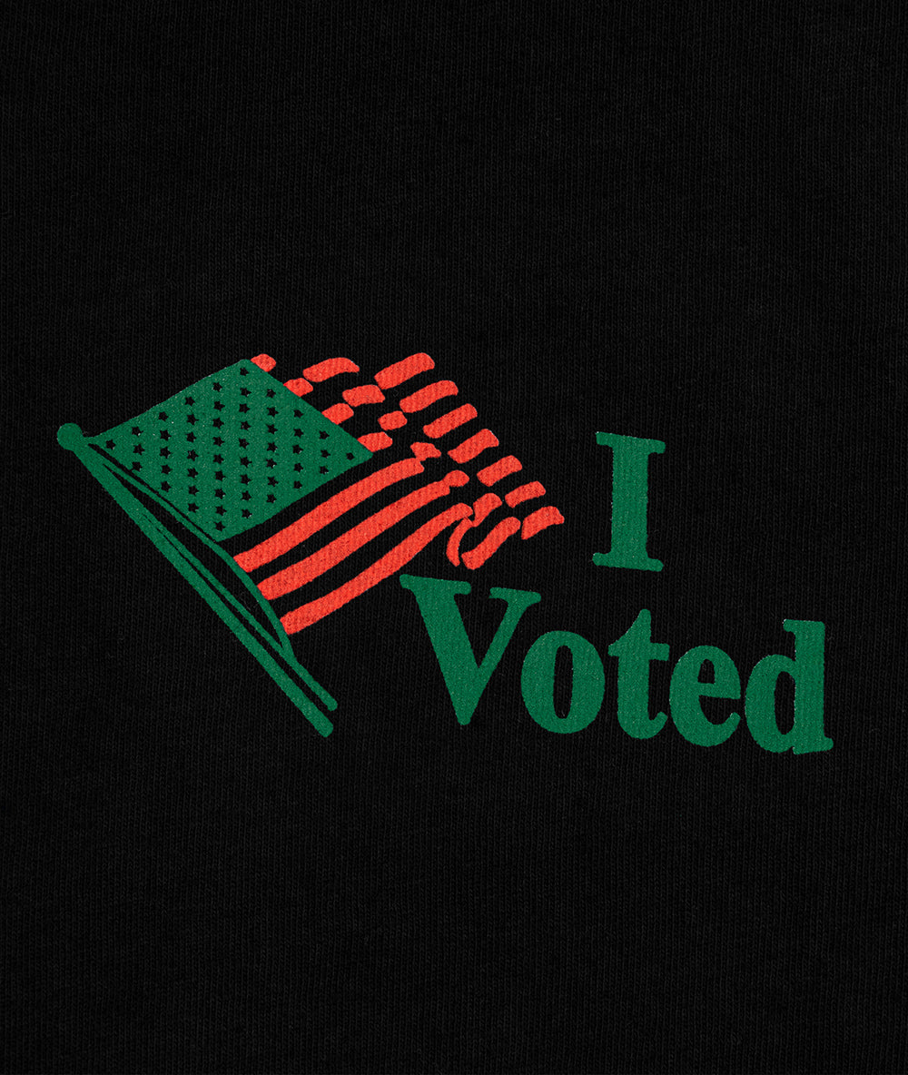 I Voted Tee - Black