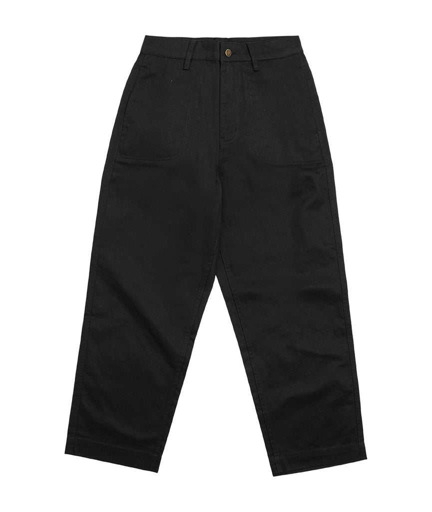 Alife Cotton Bottoms Black Front