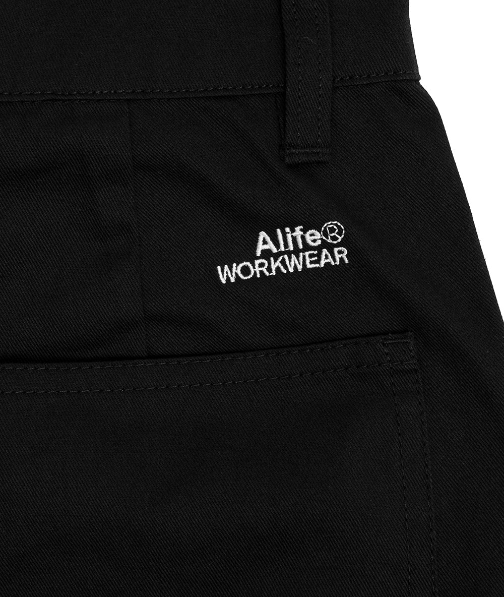 Alife Cotton Bottoms - Black