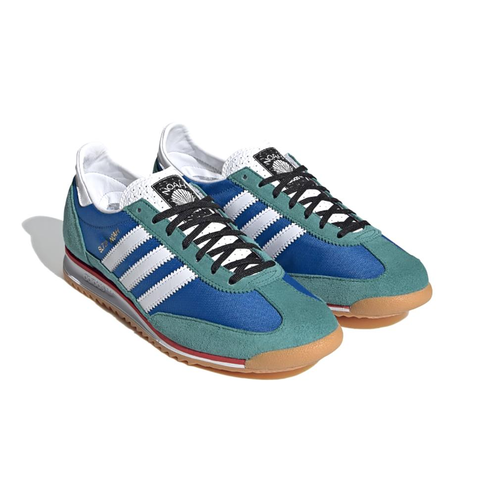 adidas SL 72 NOAH Shoes - Blue/Core White/Lush Red
