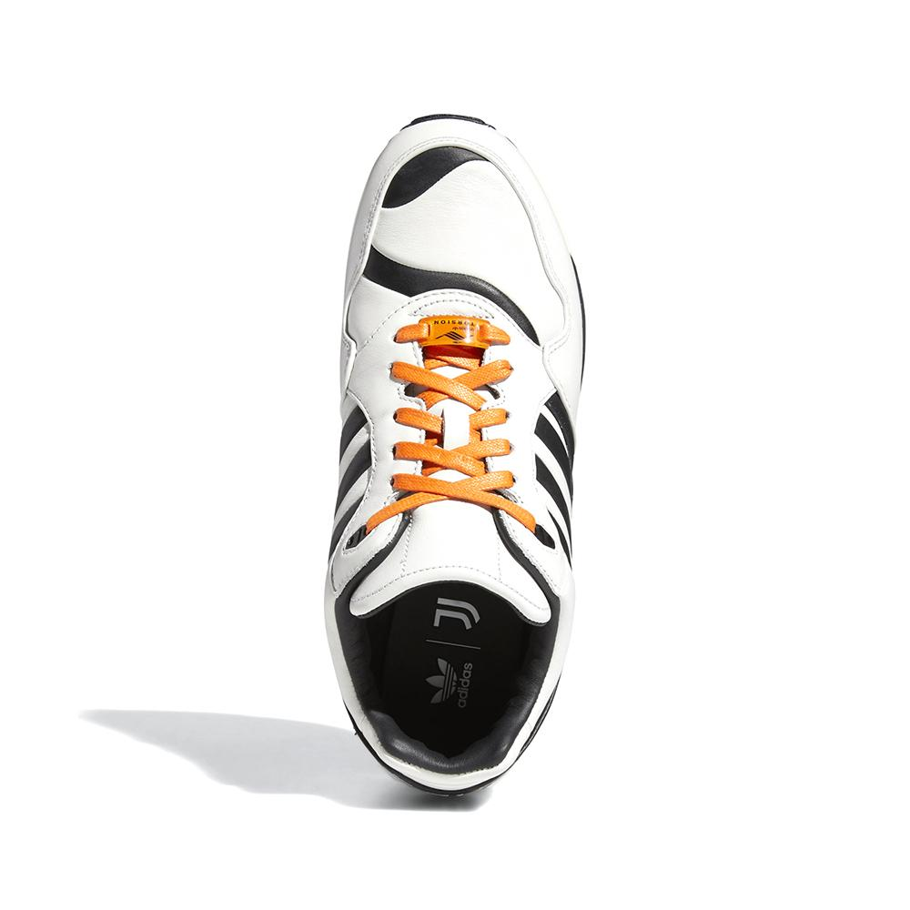 adidas ZX 6000 Juventus FZ0345 in White/Black overhead view