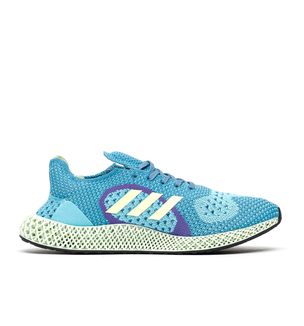 adidas ZX Carbon FY0152 Aqua side view