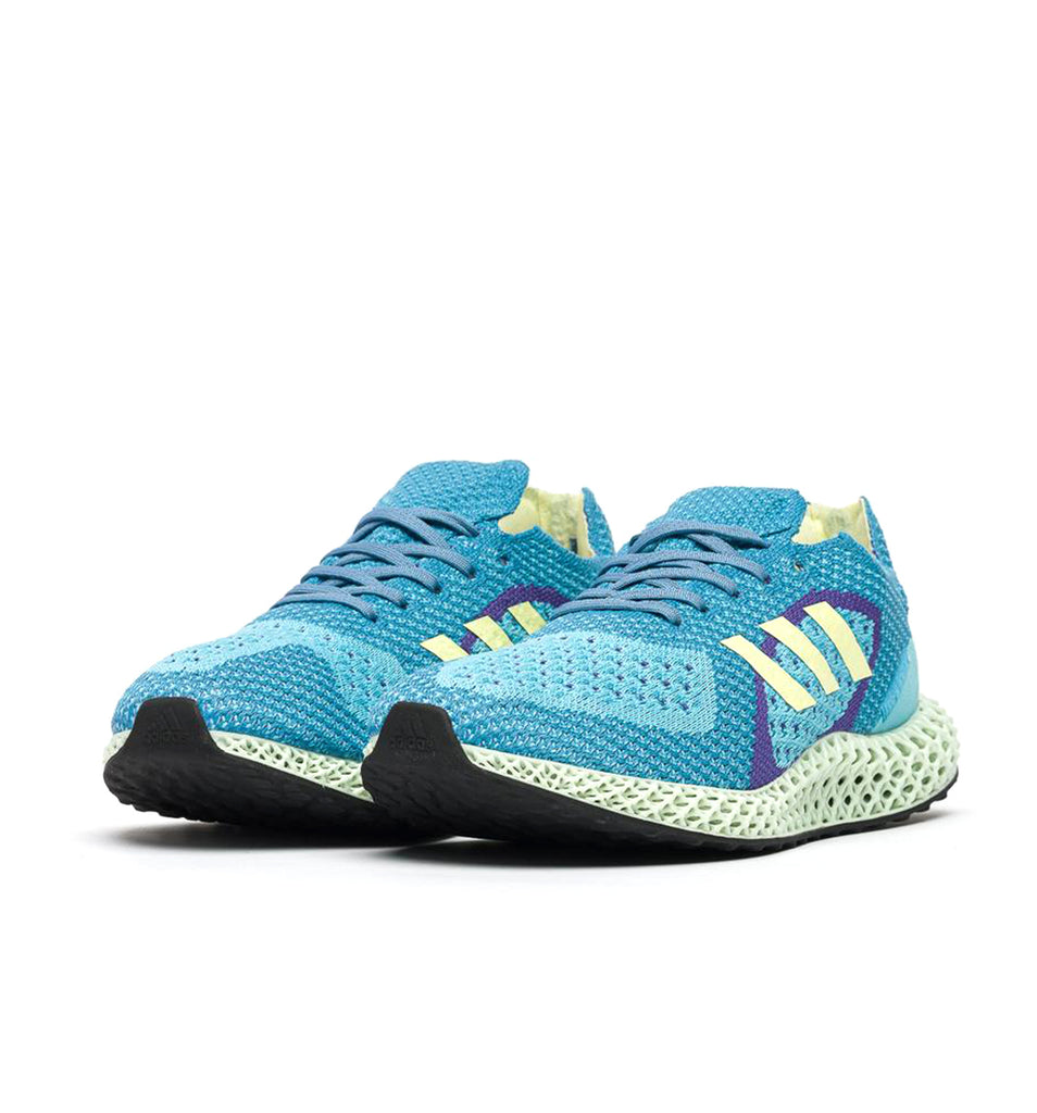 adidas ZX Carbon FY0152 Aqua 45 degree view