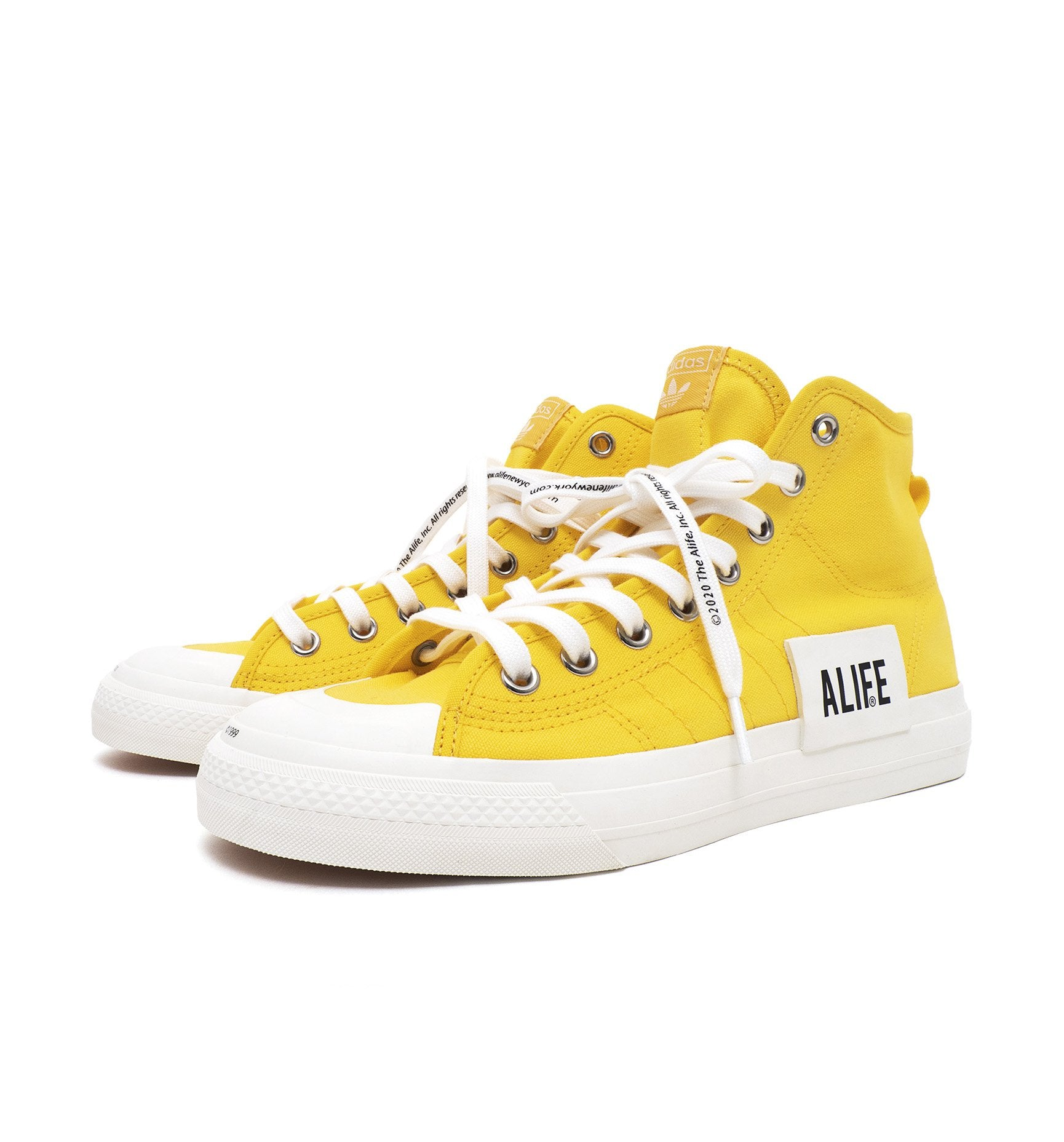 Alife adidas Nizza Yellow - 2_FX2619