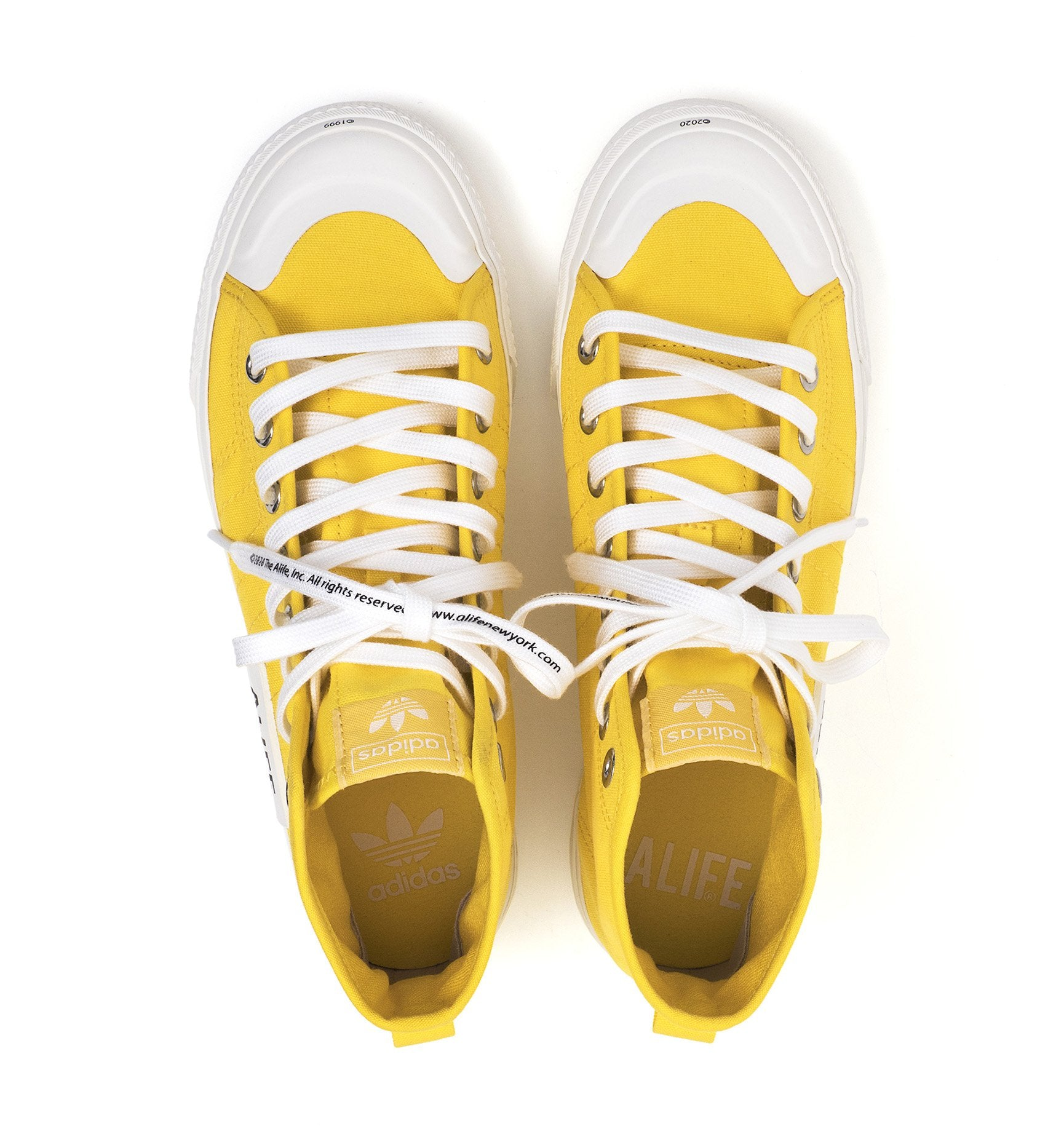 Alife adidas Nizza Yellow - 3_FX2619