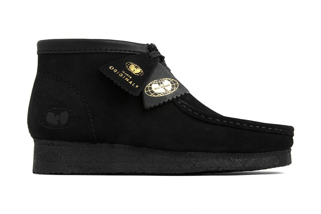 Clarks x Wu Wear Wallabee - Black Footwear from Clarks 103454 in 8.5 and Black and - Alife®