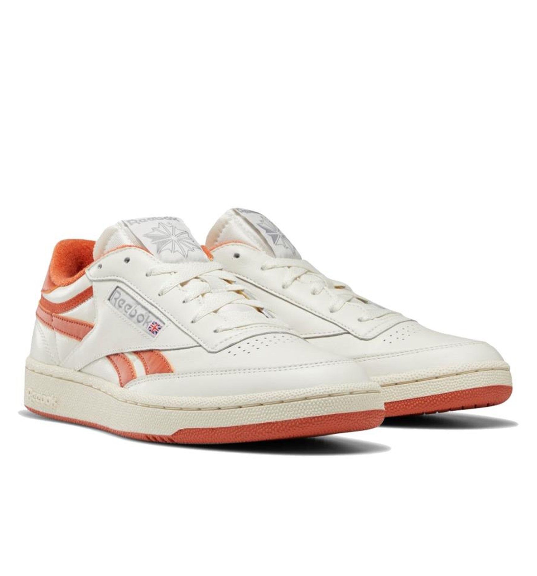 Reebok Club C Revenge Plus - Chalk/Orange