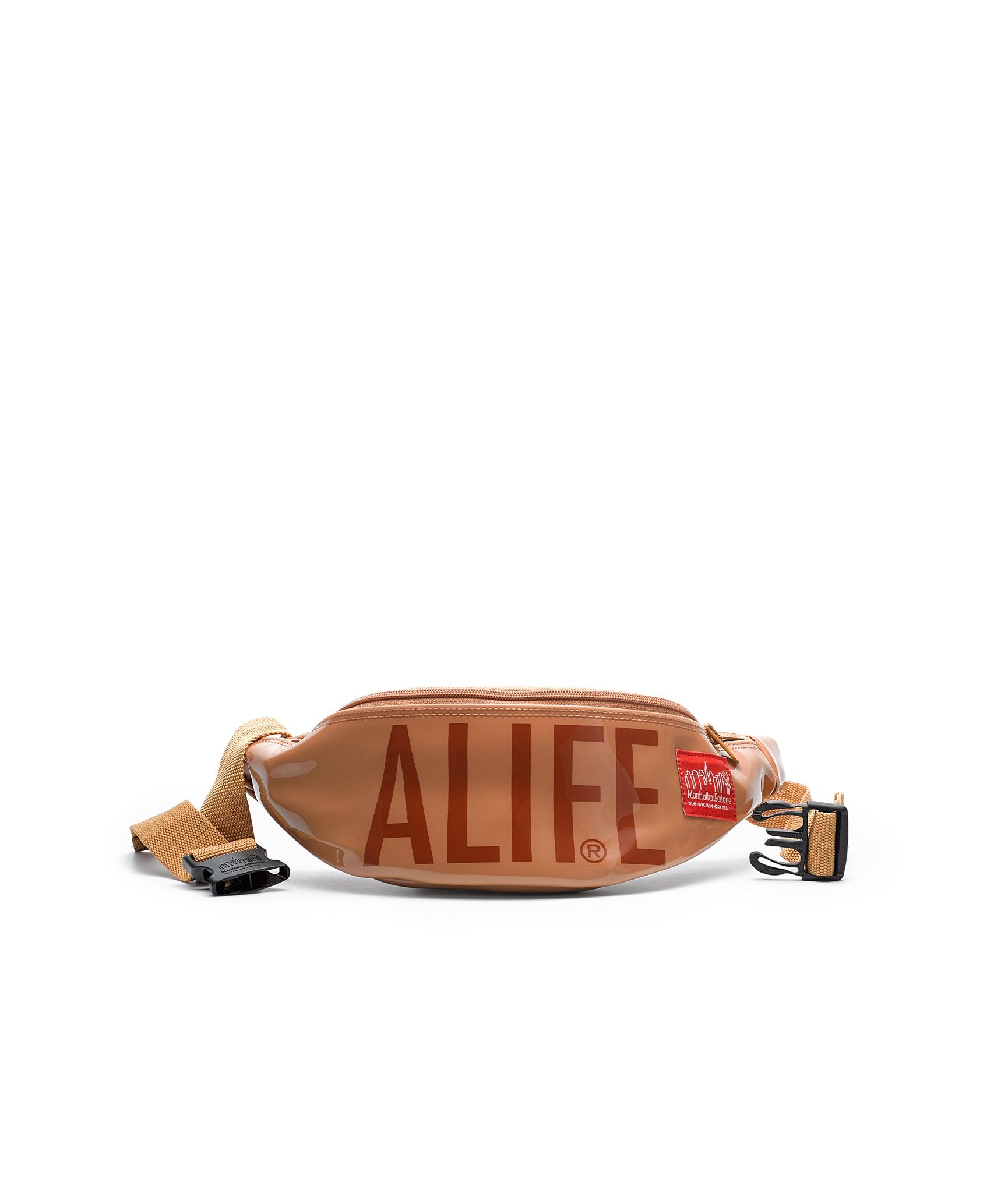Alife x Manhattan Portage Waistbag in Brown Vinyl