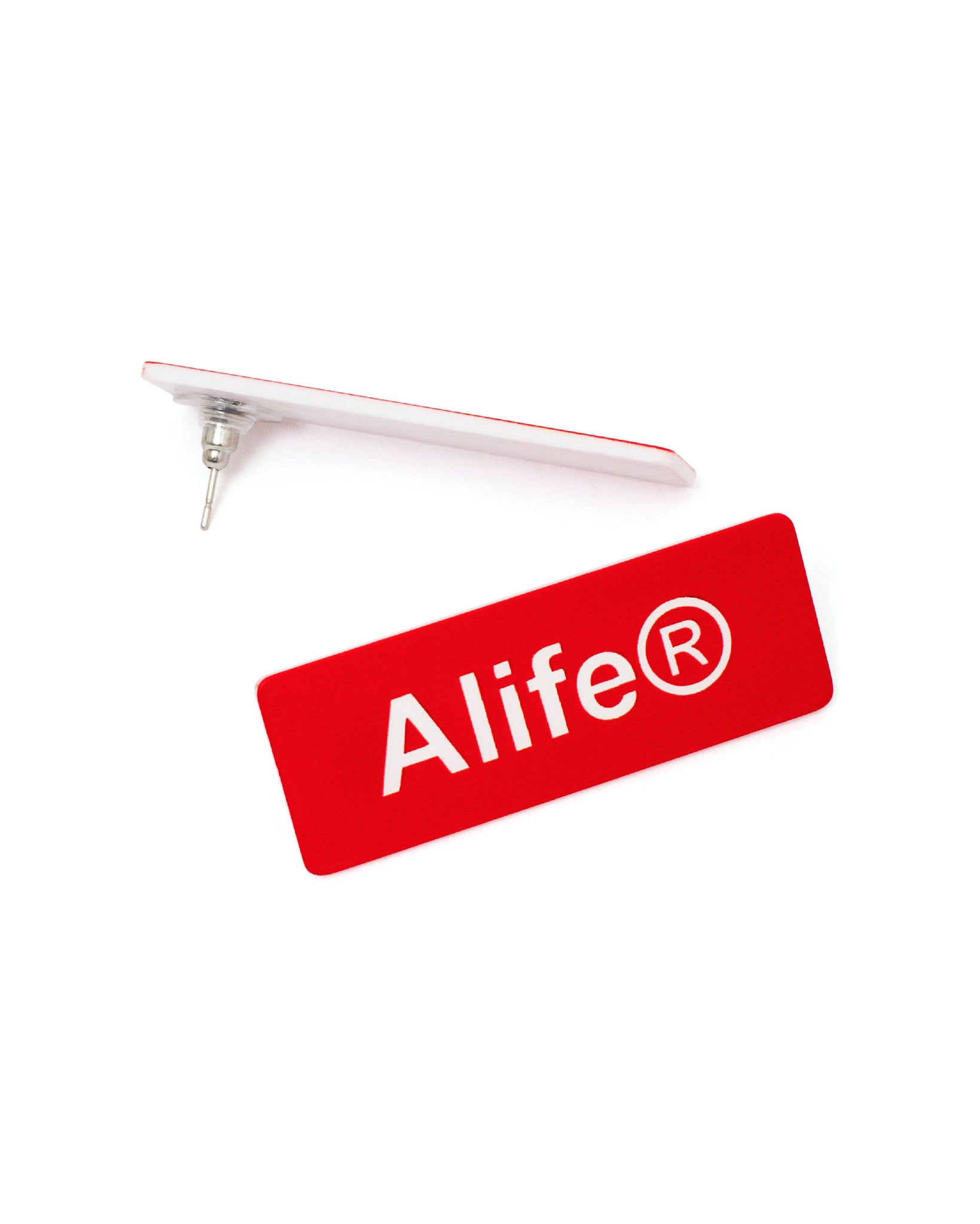 Alife® Employee Nametag Earrings