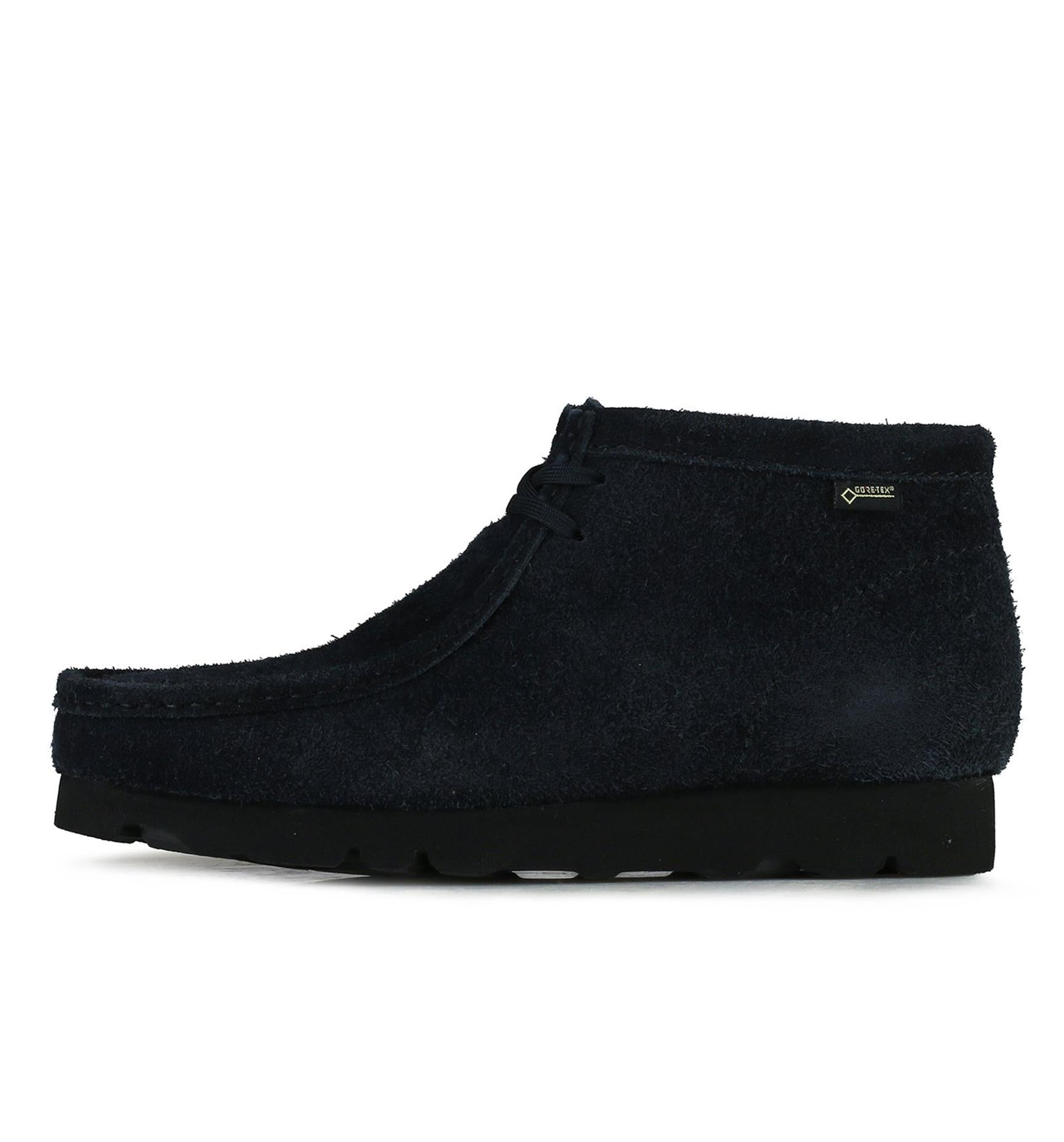 Clark's x Beams Tokyo Wallabee GTX - Navy Footwear from Clarks 103235 in 8 and Navy and - Alife®