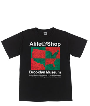 Alife Brooklyn Museum U.S. Of Attica by Faith Ringgold Tee ... 4aad6a087e