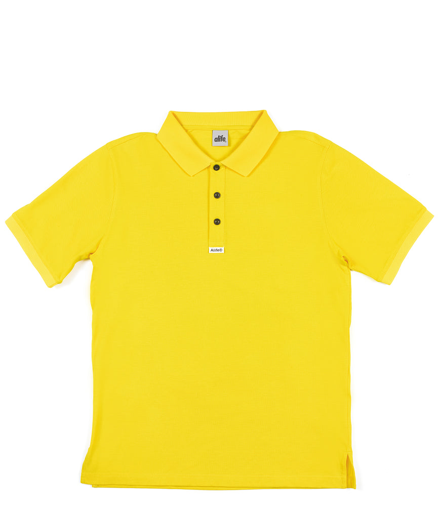 Alife Polo Yellow Front