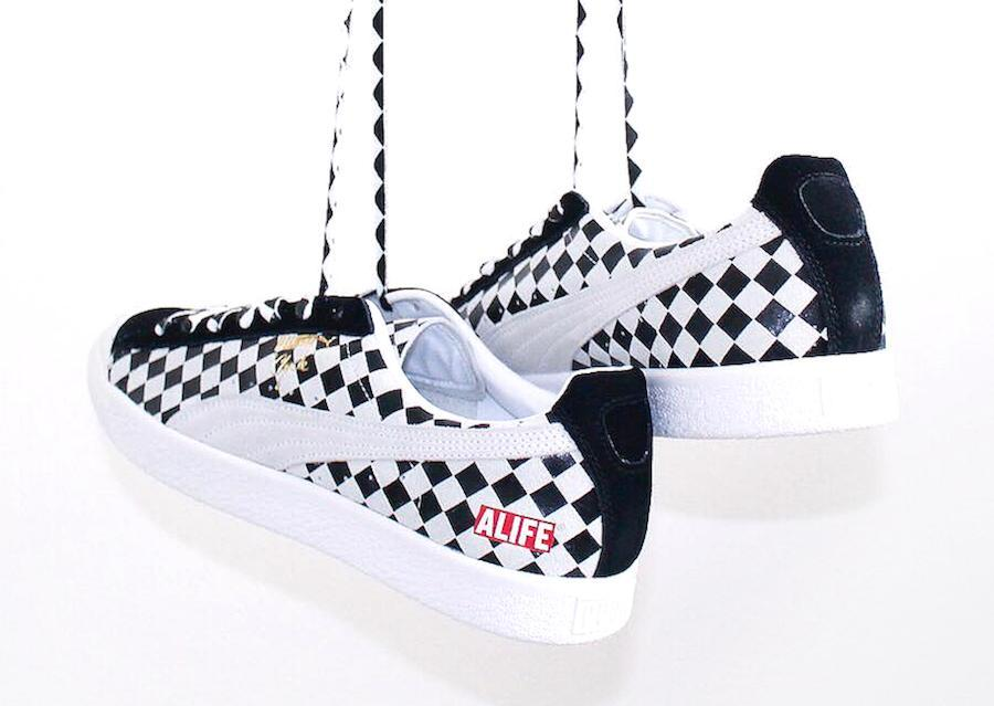 Puma Clyde Alife 36598901 in Argyle hanging view