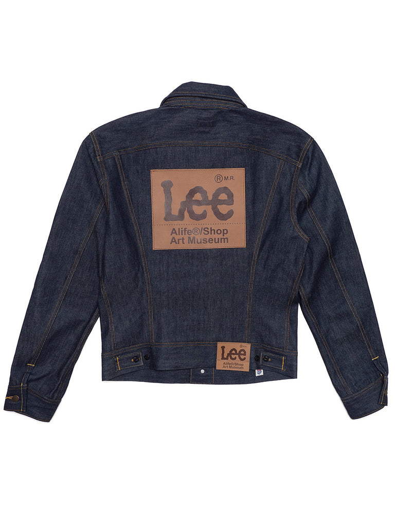 Alife/Lee 101 Rider Jacket in Rigid back view