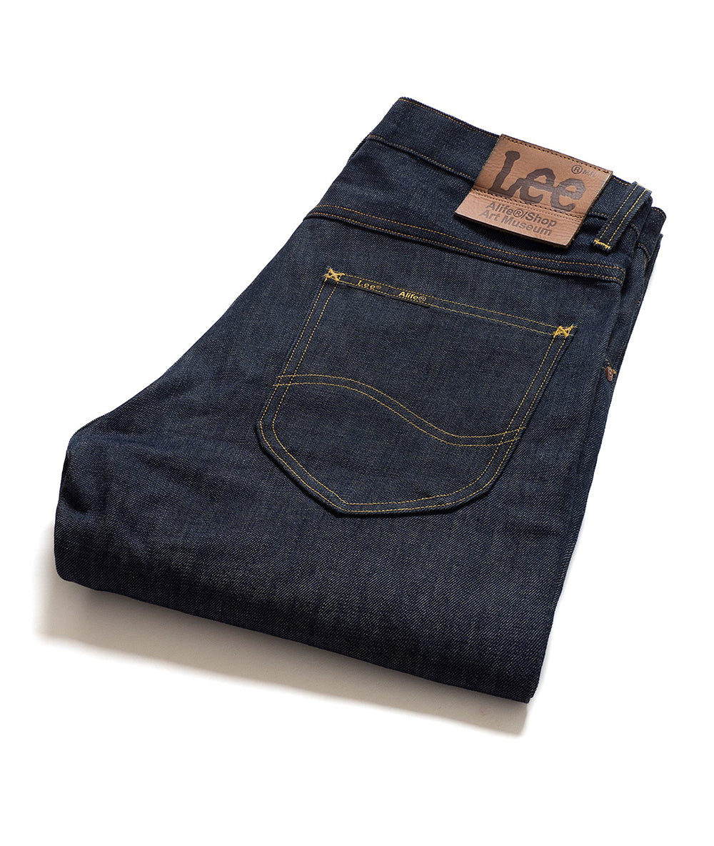 Alife/Lee 101Z Regular Fit Jean in Rigid folded view