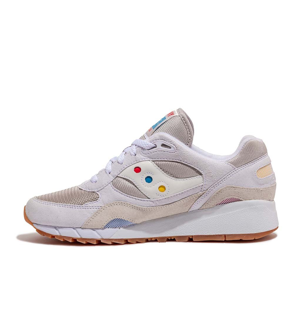 Saucony Shadow 6000 'Endless Summer' S70536-1 in White medial view