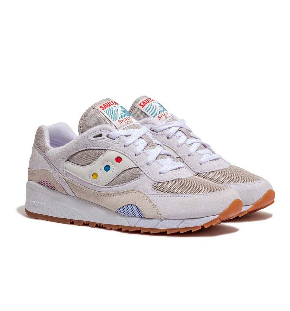 Saucony Shadow 6000 'Endless Summer' S70536-1 in White three quarter