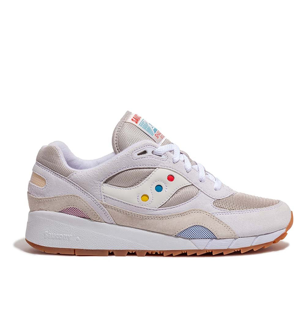 Saucony Shadow 6000 'Endless Summer' S70536-1 in White side view