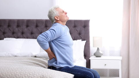 Latex mattress for back pain