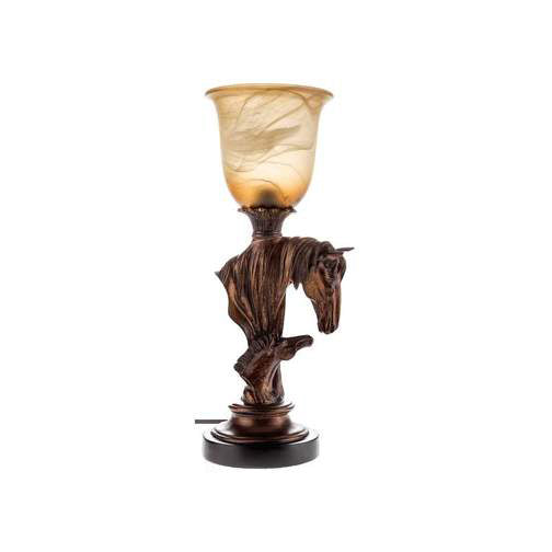 Old town road horse lamp