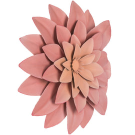 Pink Succulent Metal Wall Decor. FREE SHIPPING - Artisticspacedecor