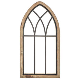 Rustic Cathedral Arch Wood Large Wall Décor - Artisticspacedecor