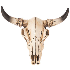 Cow Skull Wall Decor - Small. FREE SHIPPING - Artisticspacedecor