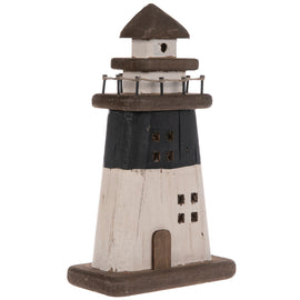 Decorate Wood Lighthouse. Perfect addition to your oceanic decor!. FREE SHIPPING - Artisticspacedecor