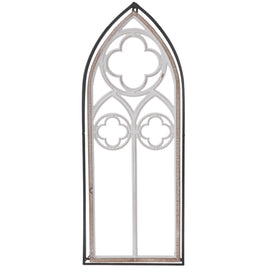 Large Cathedral Arch Wood Wall Decor. FREE SHIPPING - Artisticspacedecor